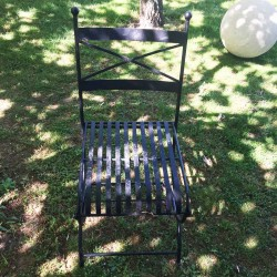 New French Style Garden Chairs