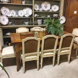 19th Century Louis XVI Style Dining Chairs