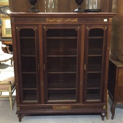 C1900 French Walnut Bookcase
