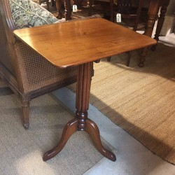 19th English Drop Side Table