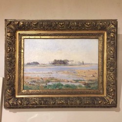 C1900 Signed Oil on Canvas