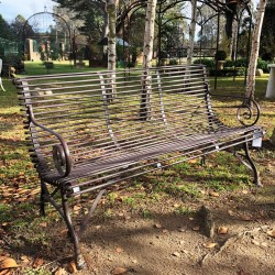 NEW French Style 3-Seater Garden Bench