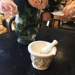 French Mortar and Pestle
