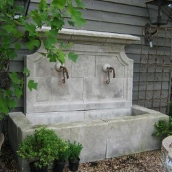 French Rustique Fountain