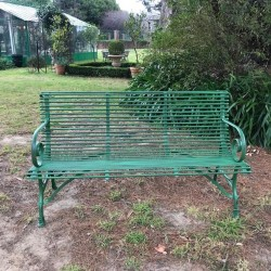 NEW French Arras Style 3 Seater Green