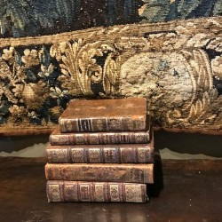 C18th French Leather Bound...