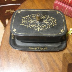 C19th Butter Dish