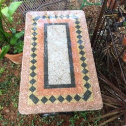 Vintage Bistro Table with...