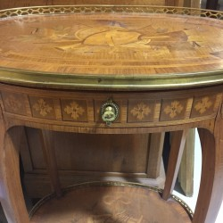 19th Century Oval Table