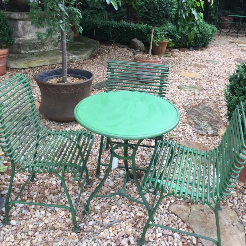 French Garden Chairs, French Outdoor Furniture