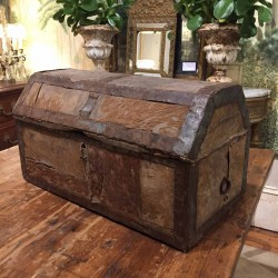 18th Century Wooden Swedish Box
