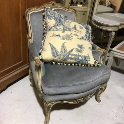 C1920 French Armchair