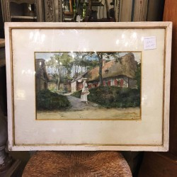 C1905 Framed Water Colour