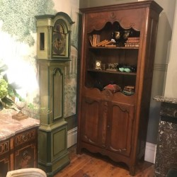 C19th French Cherrywood Bookcase