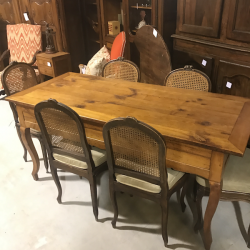 French Cherrywood Console