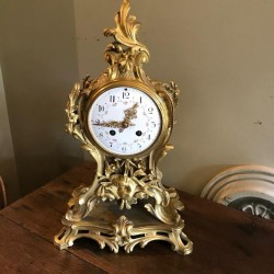 Early Rococco Style Clock
