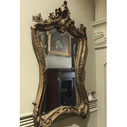 French Rococo Style Mirror