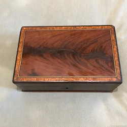 French Walnut Box