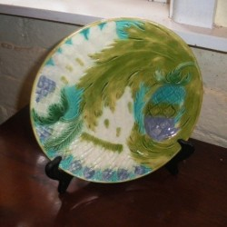 C1900 French Majolica Plate