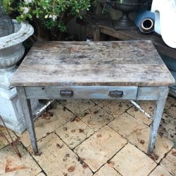 C1900 French Industrial Table