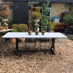 C20th Garden Table with...