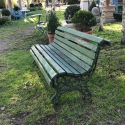 Early Painted Bench